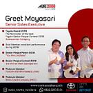 Greet Mayasari Sales Senior Di Dealer Toyota Surabaya