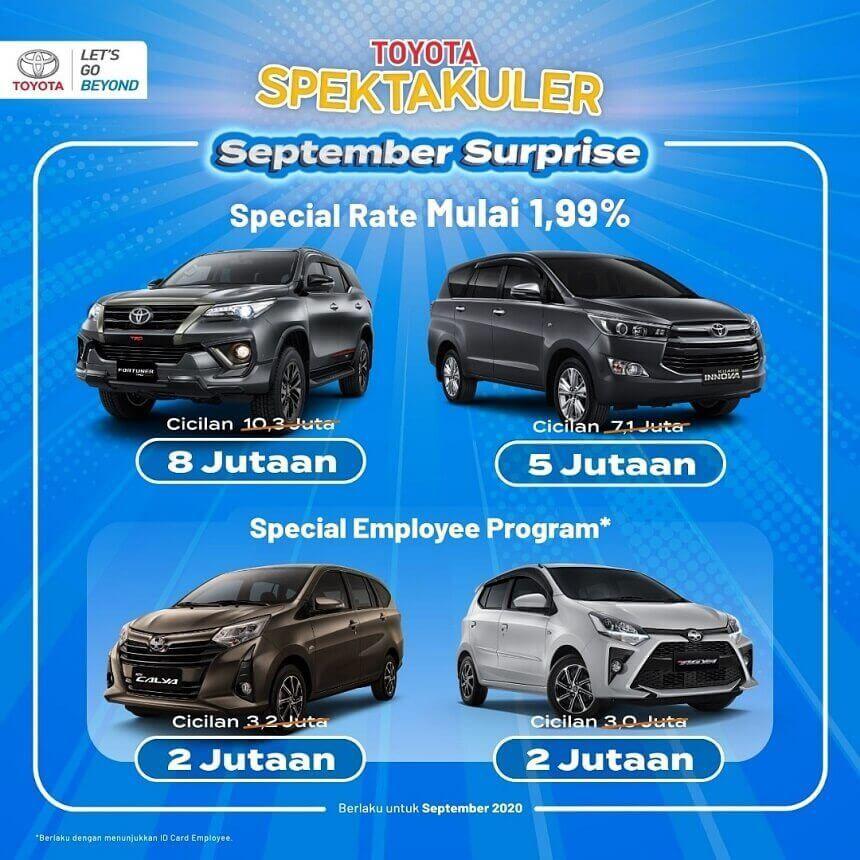 Promo Toyota Spektakuler Surprise Surabaya