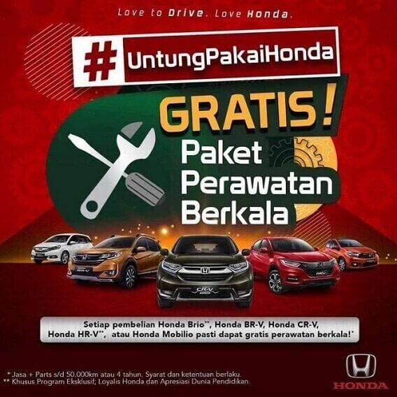 Promo #UntungPakaiHonda Di Dealer Honda Jogja