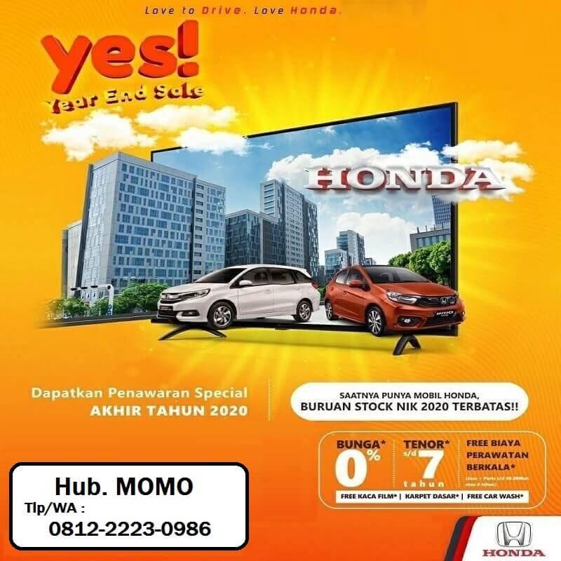 Promo Year End Sale Beli Mobil Bunga Rendah Di Honda Jogja