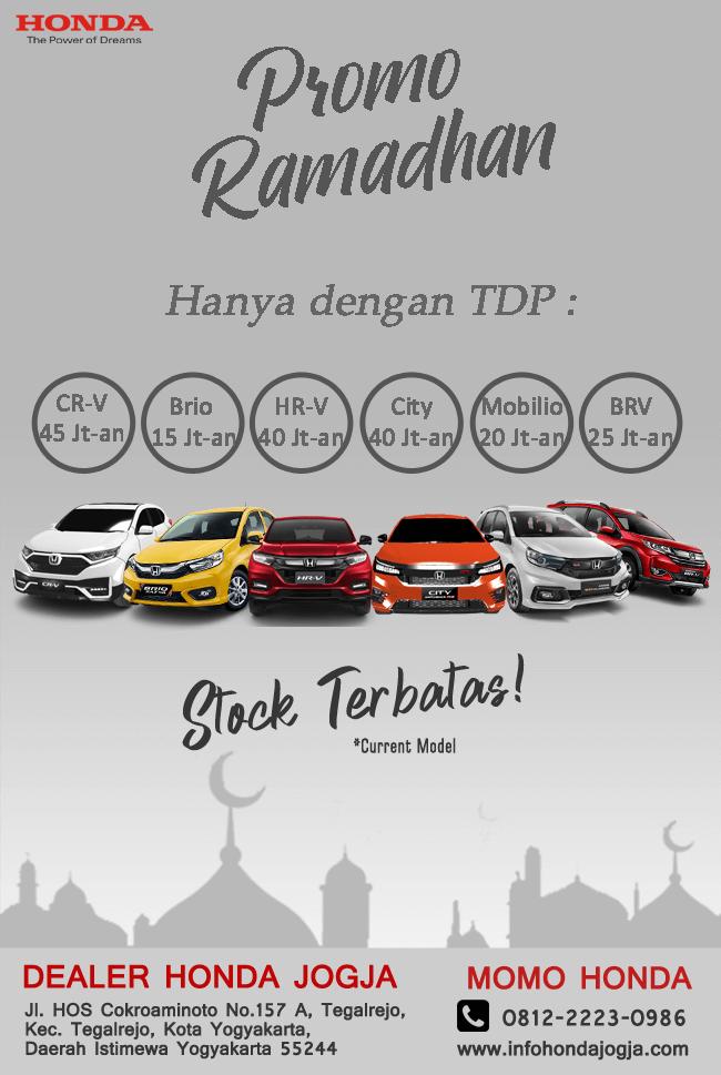 Promo Ramadhan Dealer Honda Jogja